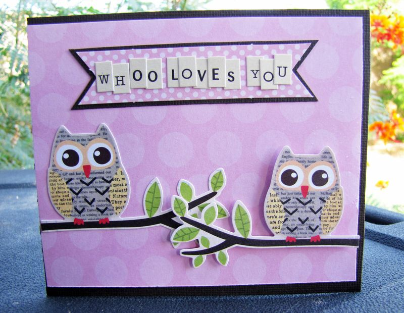 Whoo Loves you Card