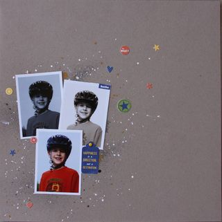 Hello (splatter&stickers)